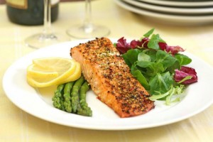 low-carb-meal-of-fish